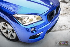 BMW X1 E84 - Dark Blue Chrome