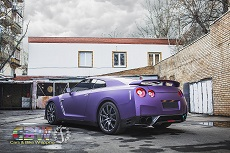 Nissan GTR R35 - Purple Matte Metallic