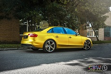 Audi A4 - Lime Matte Chrome