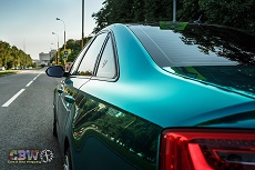 Audi A6 CBW - Emerald Chrome