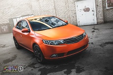 Kia Cerato - Orange Matte Chrome
