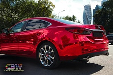Mazda 6 - Red Chrome